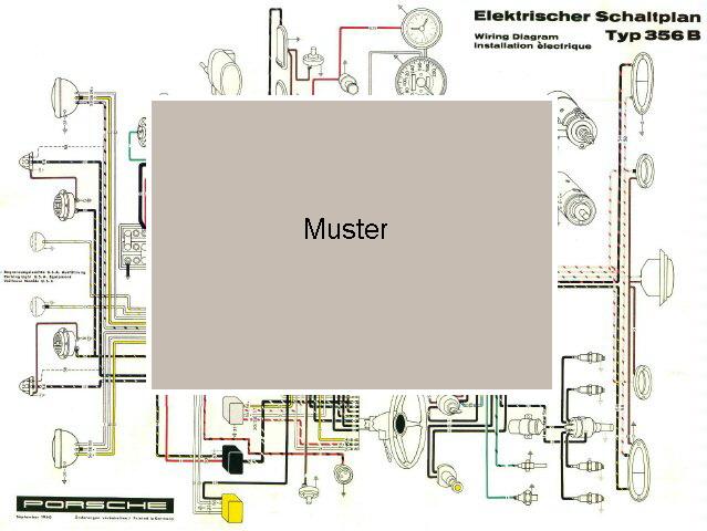 Erfreut Porsche 356 Schaltplan Galerie - Elektrische ...
